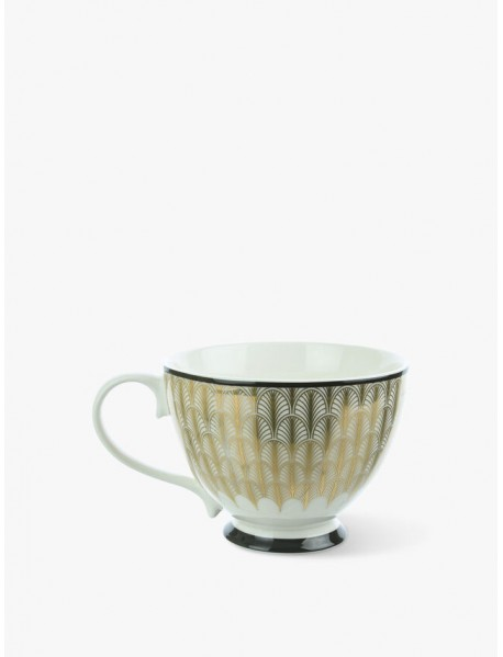 Feather Print Foot Cup
